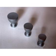 Aluminium Knop 17mm